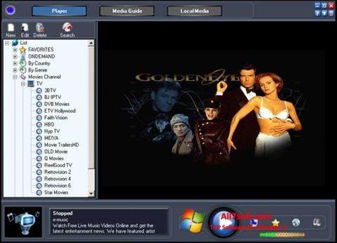 Скріншот Online TV Live для Windows 7