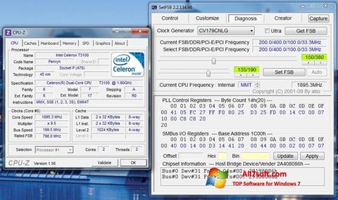 Скріншот SetFSB для Windows 7