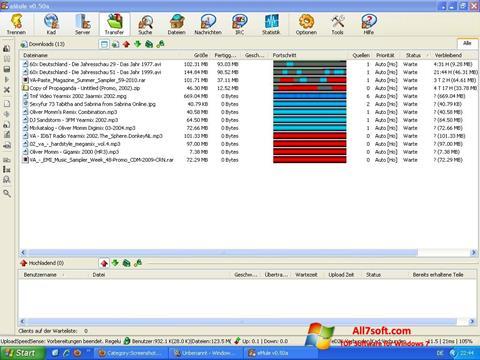 Скріншот eMule для Windows 7