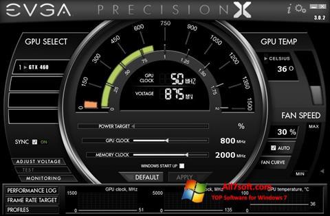 Скріншот EVGA Precision X для Windows 7