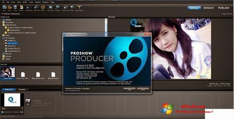Скріншот ProShow Producer для Windows 7
