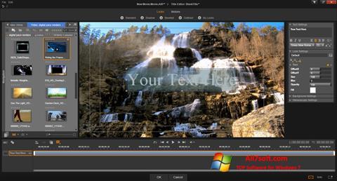 Скріншот Pinnacle Studio для Windows 7