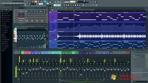 Скріншот FL Studio для Windows 7