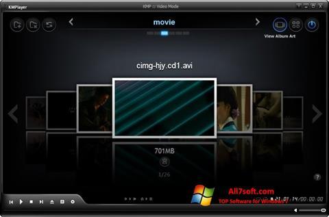 Скріншот KMPlayer для Windows 7