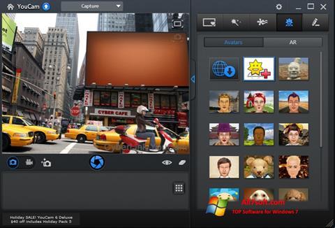 Скріншот CyberLink YouCam для Windows 7